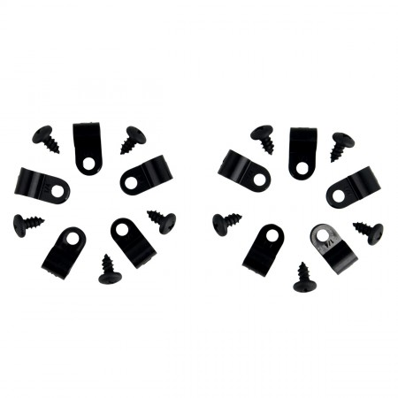 MistKing Tubing Clips and Screws for Misting Systems
