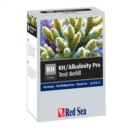 Red Sea KH/Alkalinity Pro Test Refill - 75 Tests