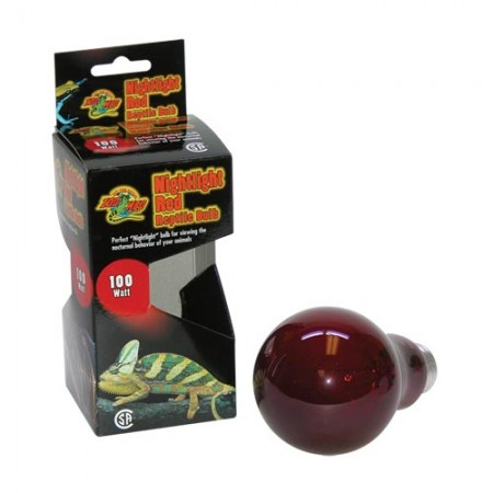 Zoo Med Nightlight Red Reptile Bulb - 100 W