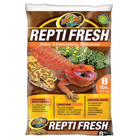 Zoo Med ReptiFresh Odor Eliminating Substrate - 8 lb