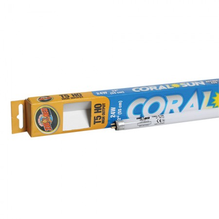 Zoo Med Coral Sun 420nm Actinic T5 HO Lamps