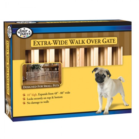 Four Paws Walk-Over Wood Safety Gates