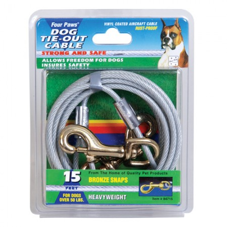 Four Paws Tie-Out Cables for Dogs