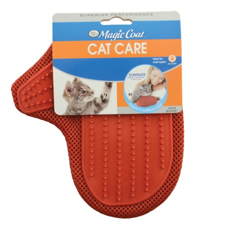 Four Paws Love Glove Grooming Mitt for Cats - Assorted Colors