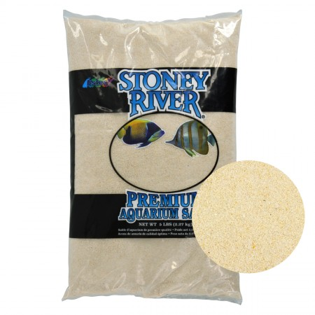 Estes Stoney River Premium Aquarium Sands