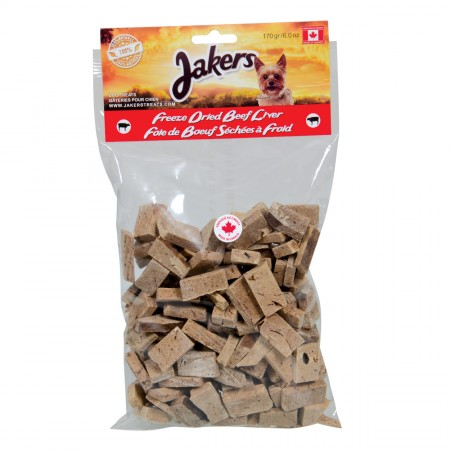 Jakers Freeze Dried Beef Livers - 170 g