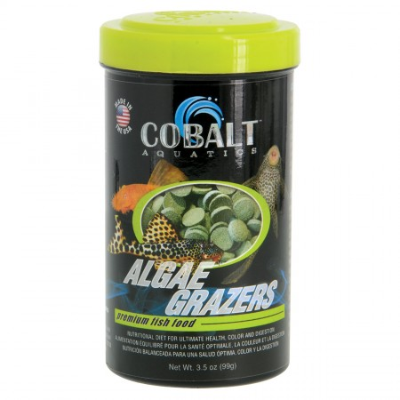 Cobalt Aquatics Algae Grazers Premium Fish Food