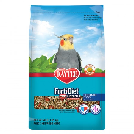 Forti-Diet Pro Health Cockatiel Healthy Support Food with Safflower - 4 lb