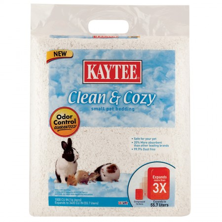 Kaytee Clean and Cozy Small Pet Bedding