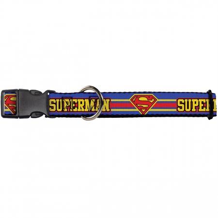 Buckle-Down Superman Collars
