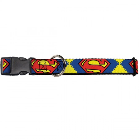 Buckle-Down Superman Shield Collars