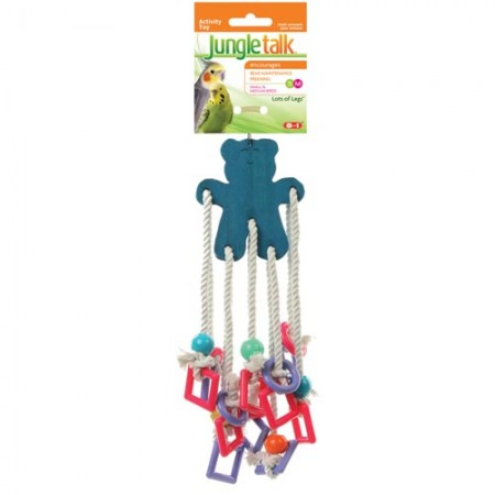 JungleTalk Lots of Legs Knotted Toys