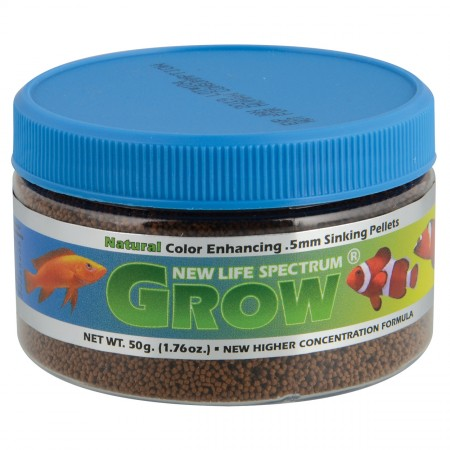 New Life Spectrum Grow Formula 0.5 mm Sinking Pellets