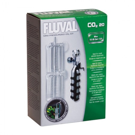 Fluval Mini Pressurized 20 g CO2 Kit