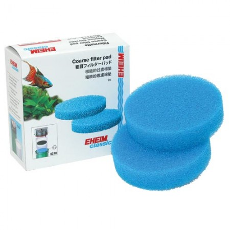 Eheim Coarse Filter Pads for 2213 Canister Filter - 2 pk