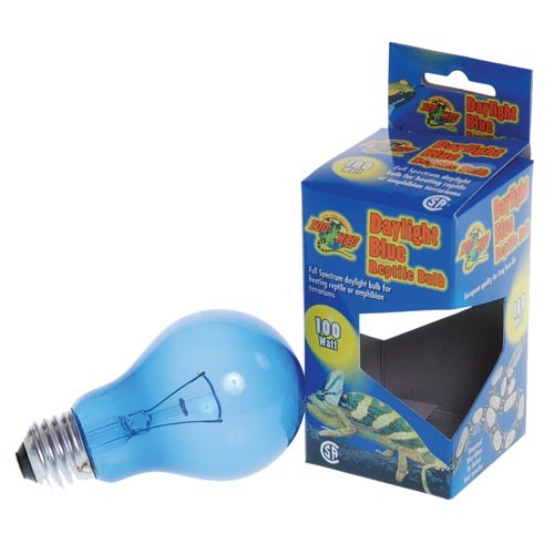 Zoo Med Daylight Blue Reptile Bulbs