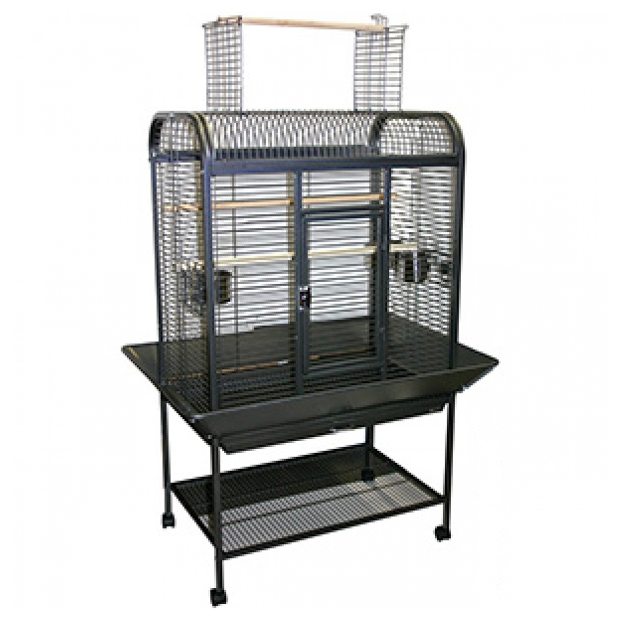 animal treasures parrot cage stand 34 x 22 x 58. Black Bedroom Furniture Sets. Home Design Ideas