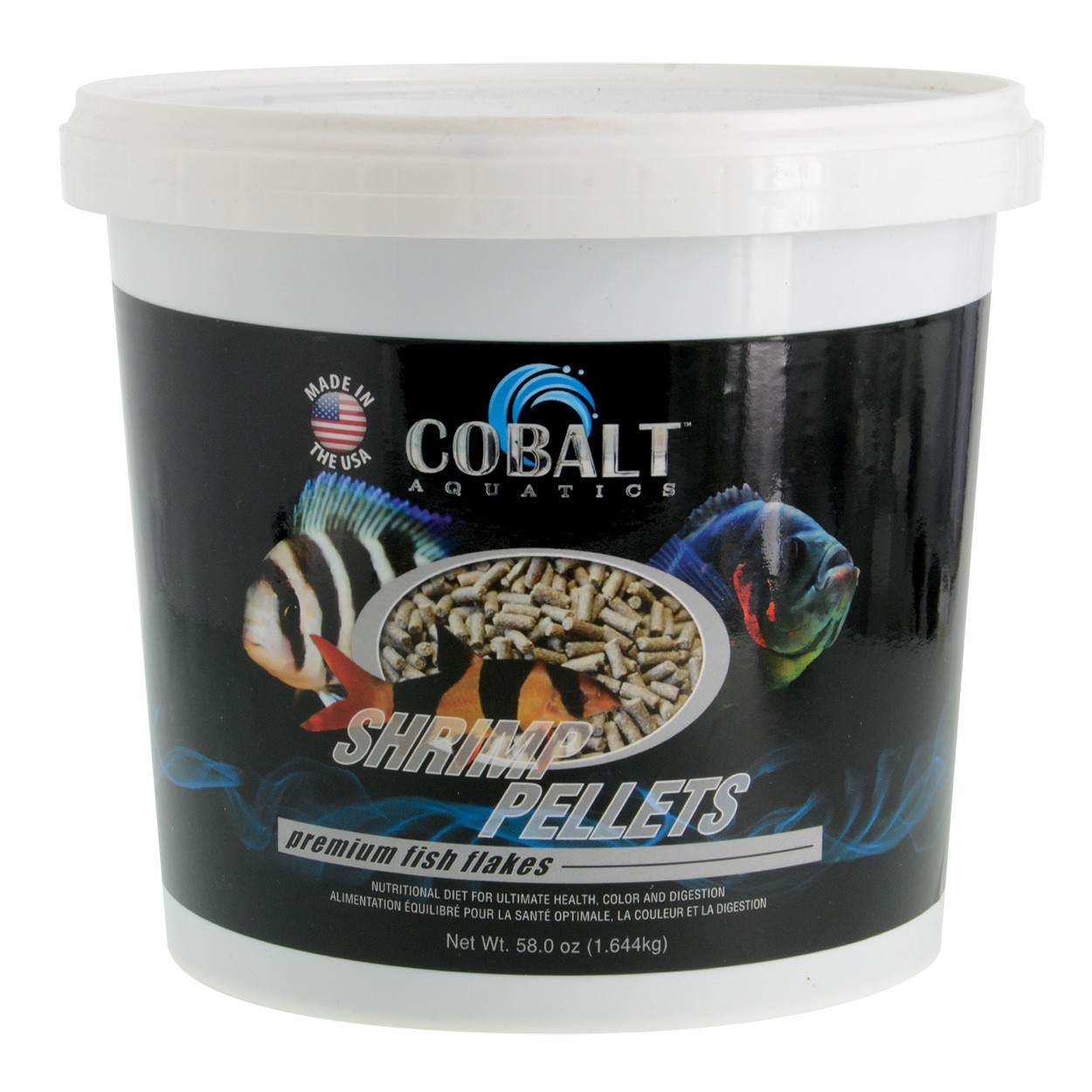 Cobalt aquatics shrimp pellets premium fish food for Bottom feeder fish list