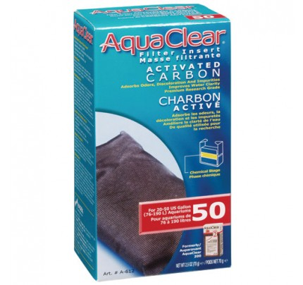 Hagen Activated Carbon Filter Insert for AquaClear 50/200 - 1 pk