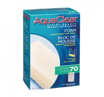 Hagen Foam Filter Insert for AquaClear 70/300 - 1 pk
