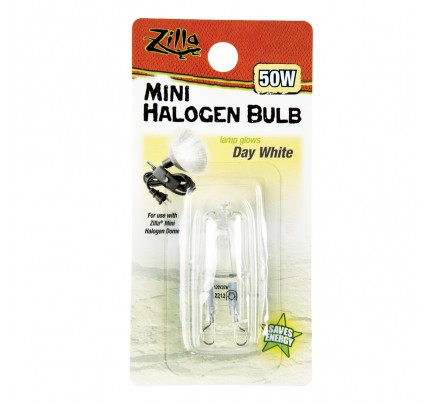 Zilla Mini Halogen Bulb - Day White - 50 W