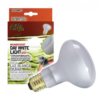 Zilla Day White Light Incandescent Spot Lamp - 150 W