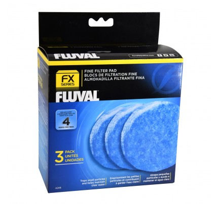 Fluval Fine Filter Pads for FX Series - 3 pk