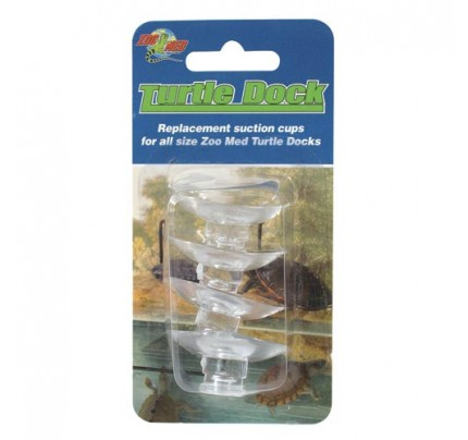 Zoo Med Suction Cups for Turtle Dock - 4 pk