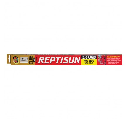 Zoo Med ReptiSun 5.0 T5-HO UVB Fluorescent Lamp - 24 W - 22""