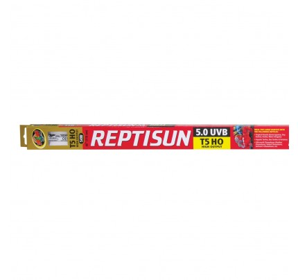 Zoo Med ReptiSun 5.0 T5-HO UVB Fluorescent Lamp - 54 W - 46""