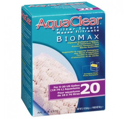 Hagen Bio-Max Insert for AquaClear 20/Mini