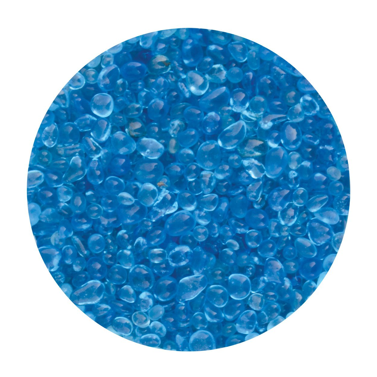 Seapora Betta Gravel - Blue - 350 g