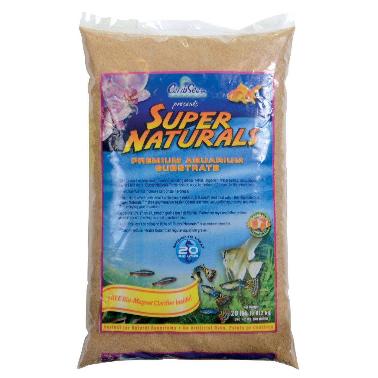 Carib Sea Super Naturals Sunset Gold - 20 lb