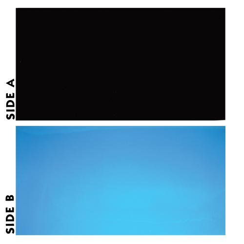 Underwater Treasures Black/Blue Reversible Background - 24 inch (Sold by the Foot)