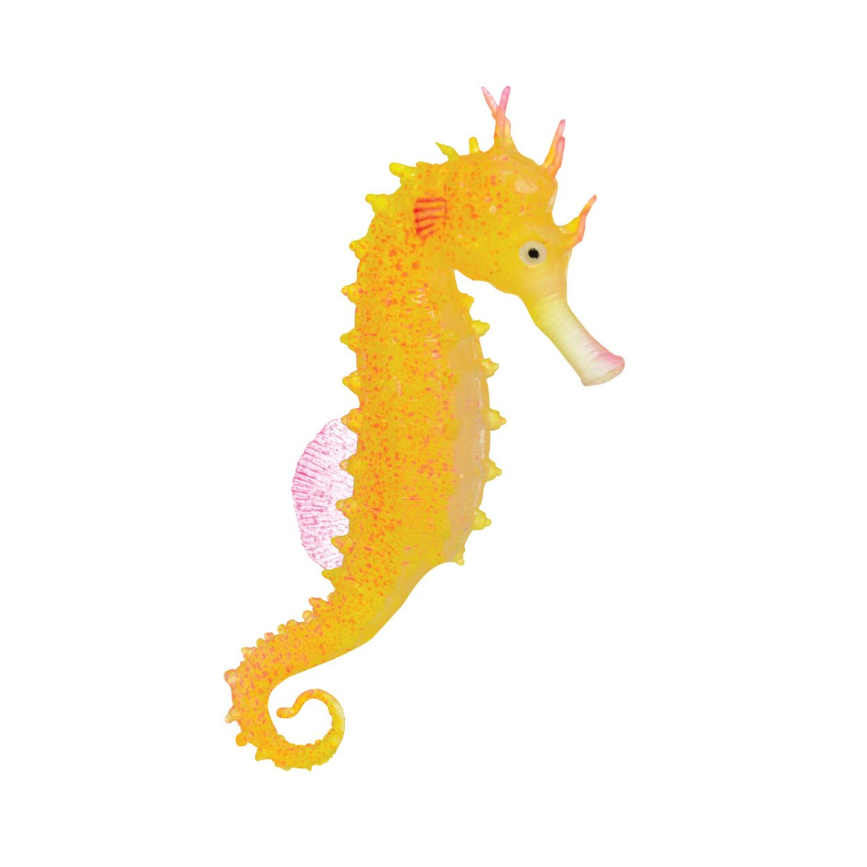Underwater Treasures Action Seahorse - Yellow