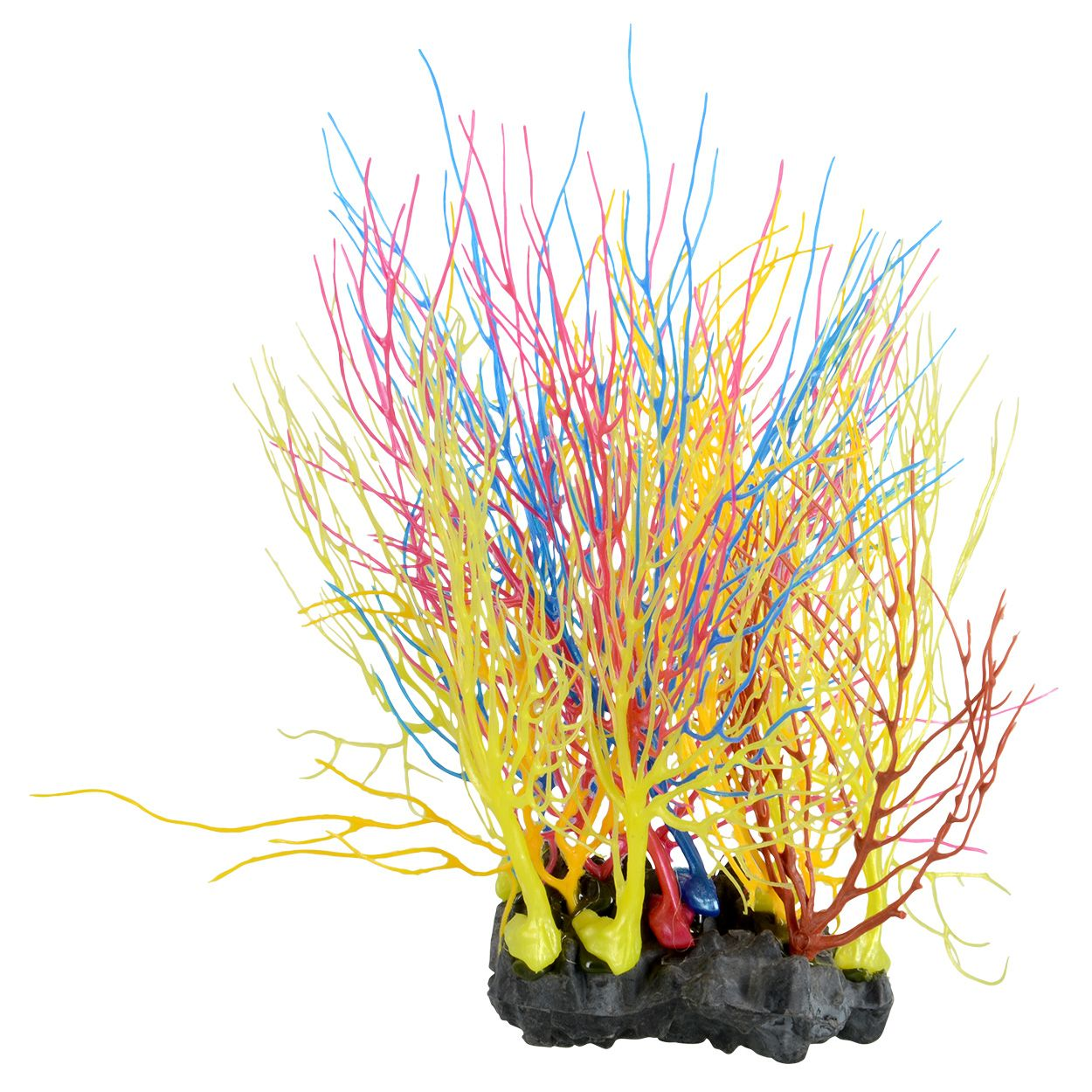 Underwater Treasures Sea Fan Coral - Rainbow Cluster