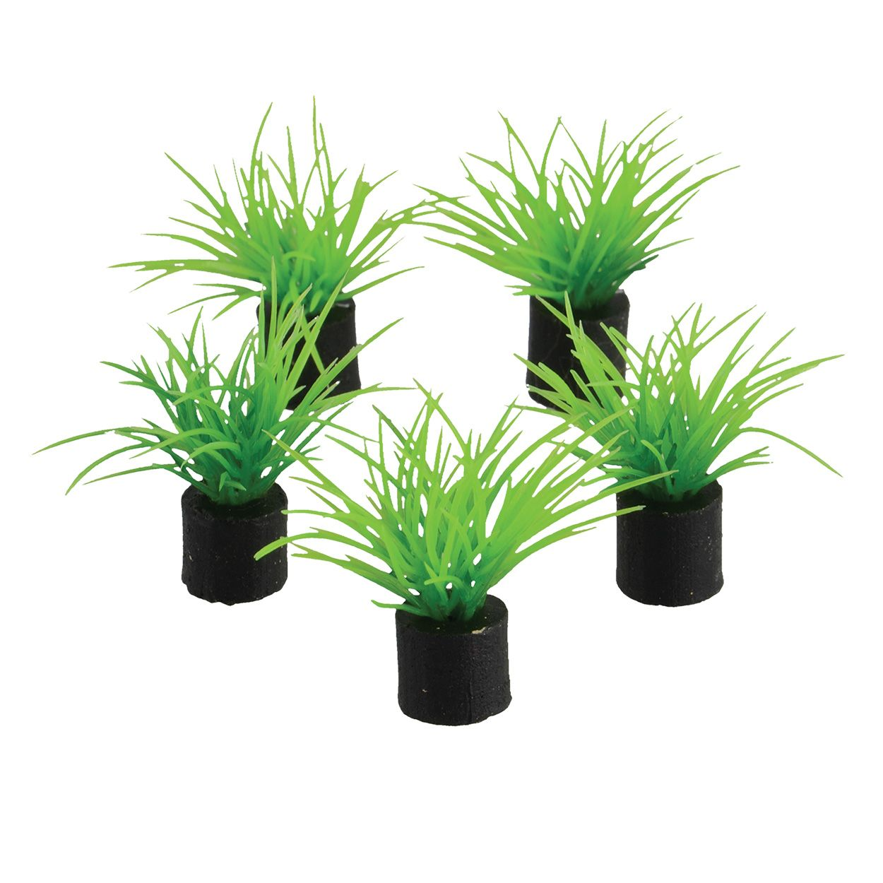 Underwater Treasures Green Grass Mini Plant - 1.5 inch (5 pk)