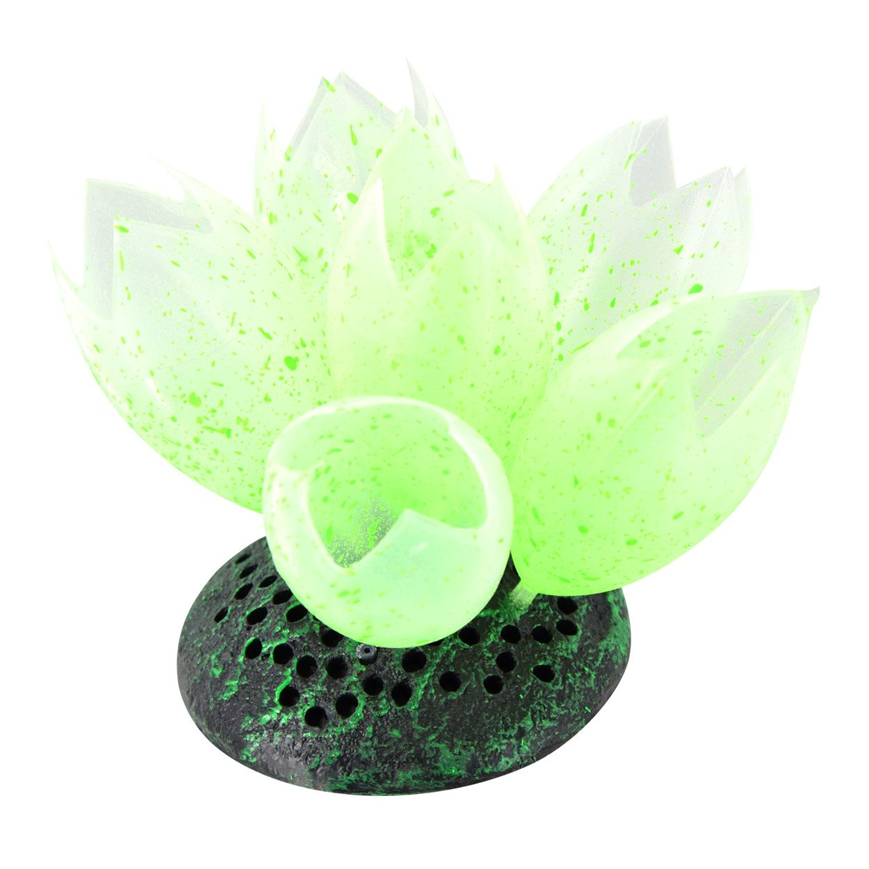 Underwater Treasures Glow Action Bubbling Sea Squirts - Green