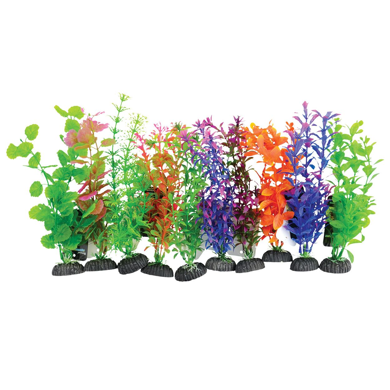 Underwater Treasures Plant on Rock Mixed - Medium (10 pk)