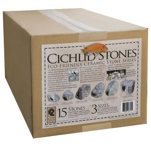 Underwater Galleries Cichlid Stones - 15 pk