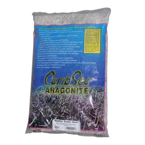 Carib Sea Super Reef Aragonite Sand - 15 lb
